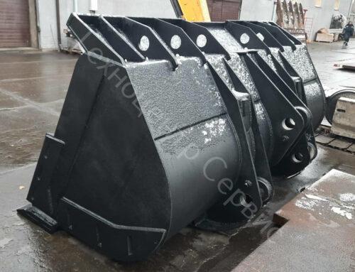 Изготовили новый ковш для фронтального погрузчика Hyundai SL763