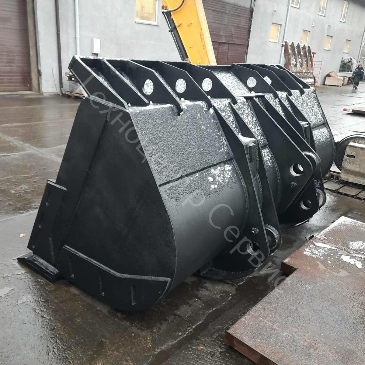 Ковш для фронтального погрузчика Hyundai SL763, объем - 3.2м³