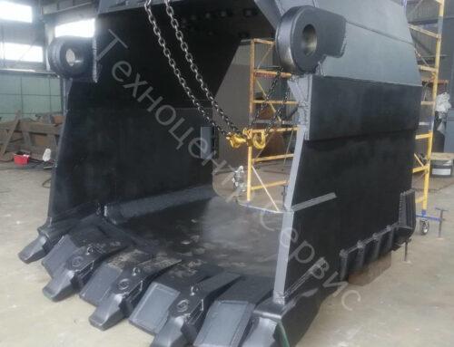 Изготовлен ковш ЭКГ-10, объёмом — 12м³, система — ESCO SV2