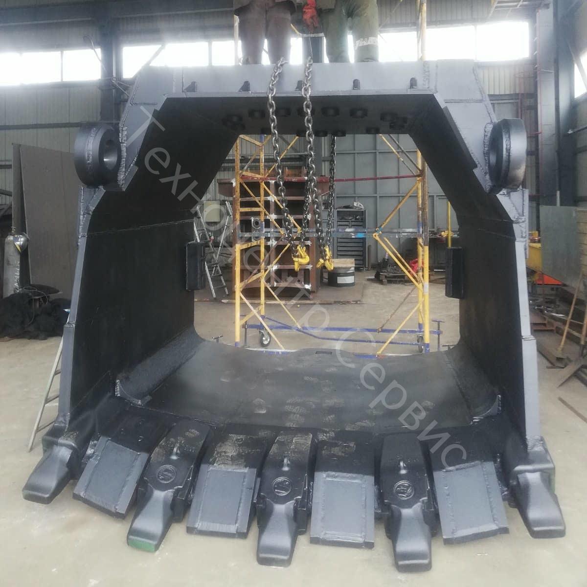 Изготовлен ковш ЭКГ-10