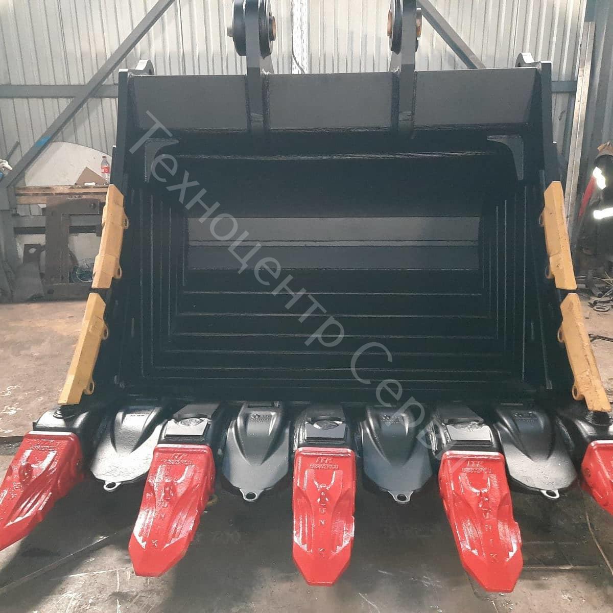 Новый ковш скальный экстра - XRB, для CAT 390FL, объем - 6м³