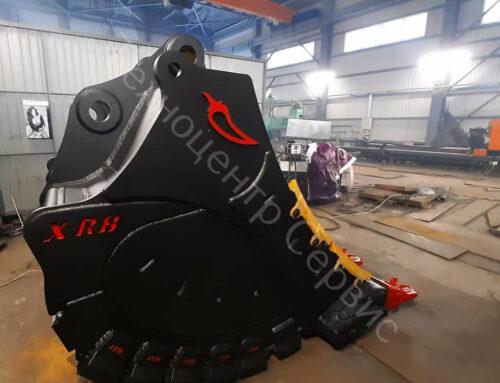 Изготовили новый ковш скальный экстра — XRB, для CAT 390FL, объем — 6м³