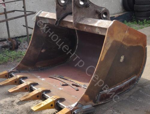 Выполнили ремонт и расширение ковша (для Liebherr 924)