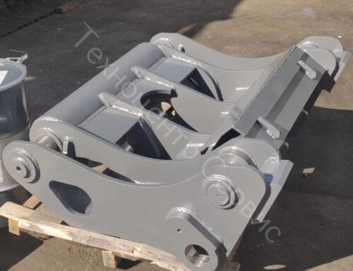 Изготовили новый быстросъём для Volvo L220E